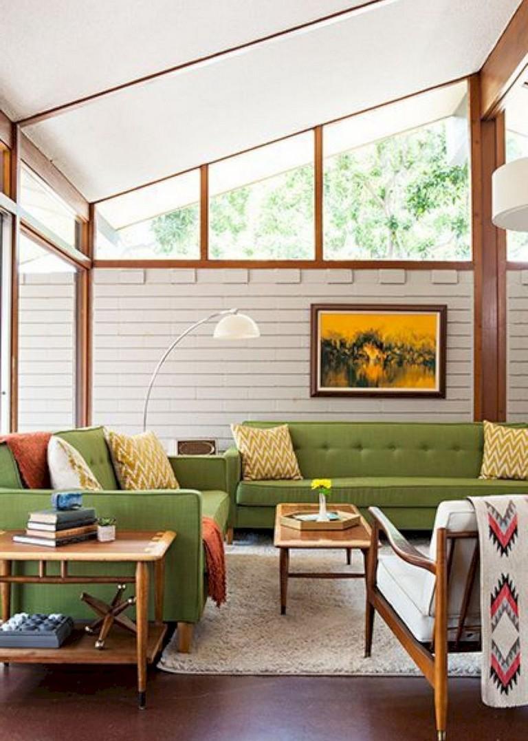 50+ Amazing Mid Century Modern Living Room Design Ideas ...