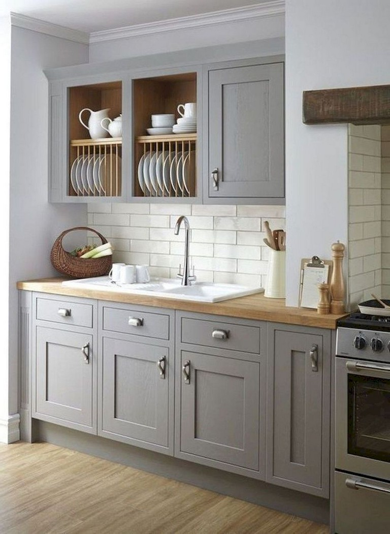 70 Amazing Farmhouse Gray Kitchen Cabinet Design Ideas 01 Inspiredetail Com