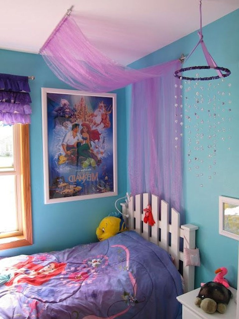36 sweet mermaid themes bedroom ideas for your children