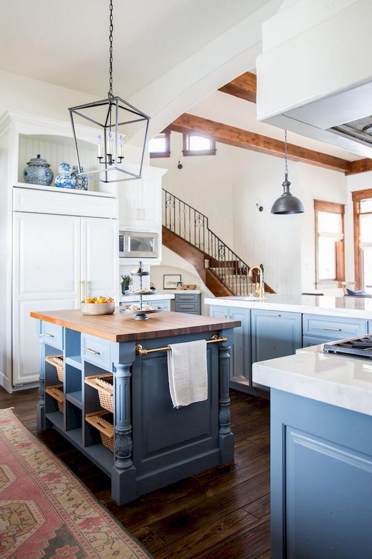 91 Amazing Farmhouse Kitchen Ideas Budget